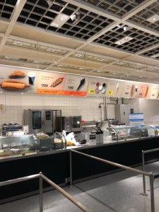 IKEA港北ブラックソフトクリーム